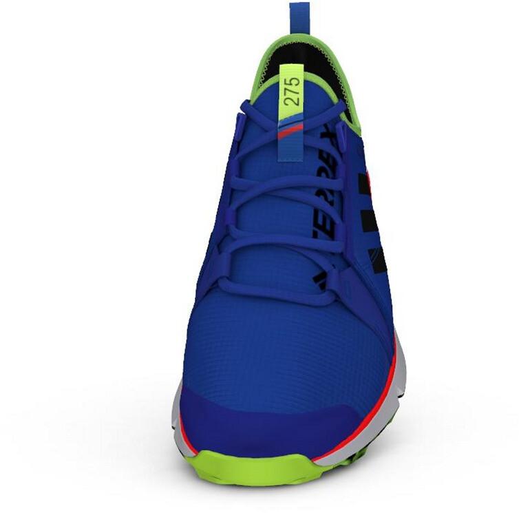 adidas TERREX Speed Gore Tex Trail Running Shoes Men glory bluecore blacksignal green